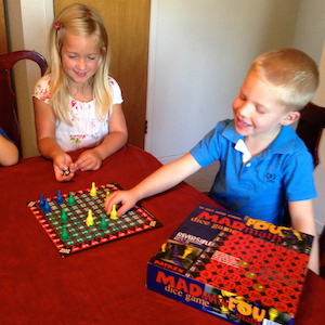 Family Games for Fun and Learning
